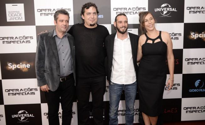 Pablo Torrecillas, Tomas Portella, Rodrigo Castellar e Martina Rupp